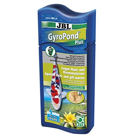 JBL GyroPond Plus gegen Kiemenwürmer, Hautwürmer und Bandwürmer bei Teichfischen