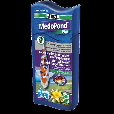 JBL MedoPond Plus gegen Pünktchenkrankheit und bakterielle Infektionen im Gartenteich