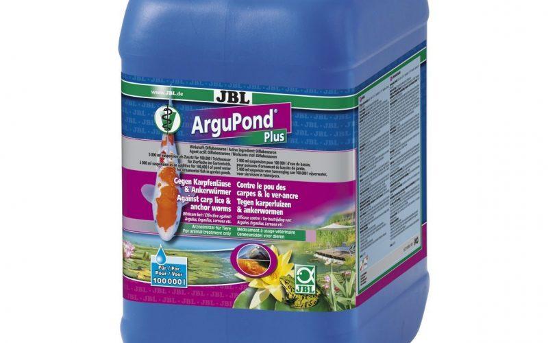 Mit JBL ArguPond Plus Karpfenläusen und Ankerwürmern den Garaus machen
