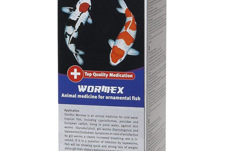 Velda Sanikoi Wormex gegen Kiemenwürmer, Hautwürmer und Bandwürmer im Gartenteich