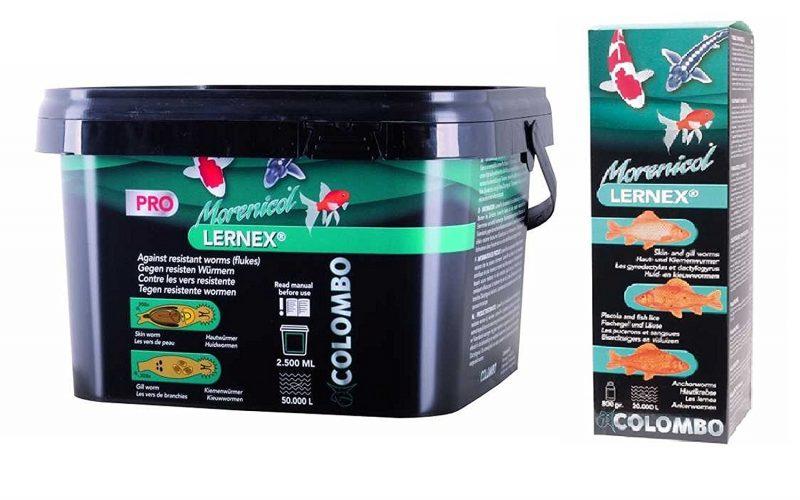 Colombo Lernex gegen Hautwürmer, Kiemenwürmer und Fadenwürmer einsetzen